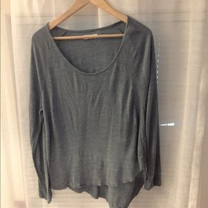 Madewell -Anthem scoop neck long sleeve Tee